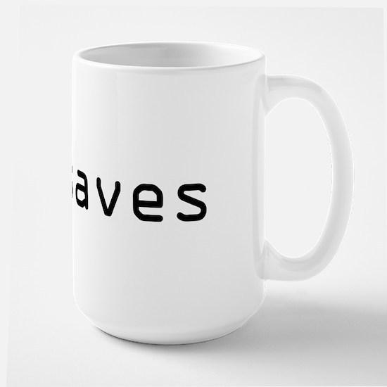 :w! saves Large Mug