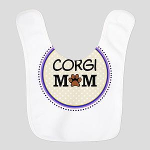 Corgi Dog Mom Bib