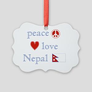 PeaceLoveNepal Picture Ornament