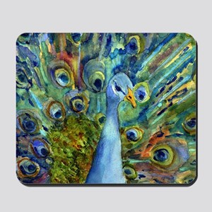 Peacock Party Mousepad