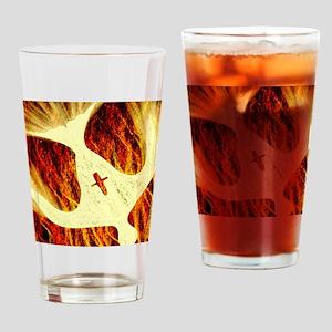 Spirit on Fire Drinking Glass