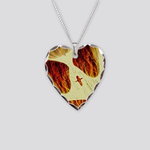 Spirit on Fire Necklace Heart Charm