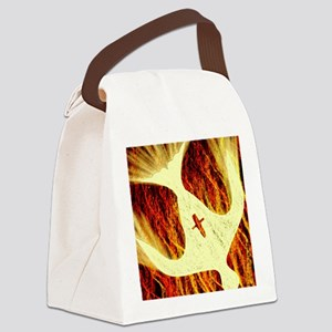 Spirit on Fire Canvas Lunch Bag