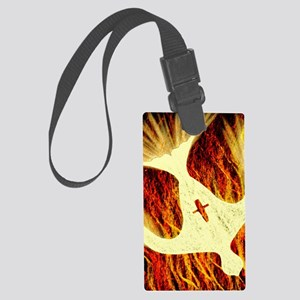 Spirit on Fire Large Luggage Tag