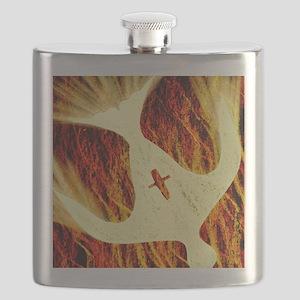 Spirit on Fire Flask