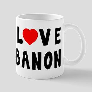 I Love Lebanon Mug