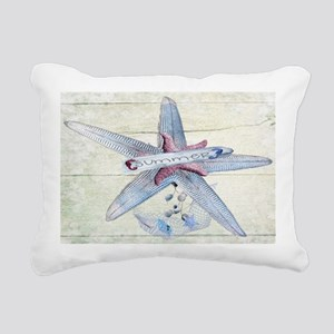 Starfish Sea Star Rectangular Canvas Pillow