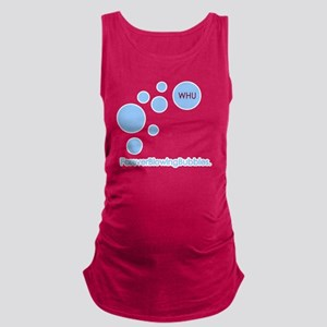 Forever Blowing Bubbles Maternity Tank Top