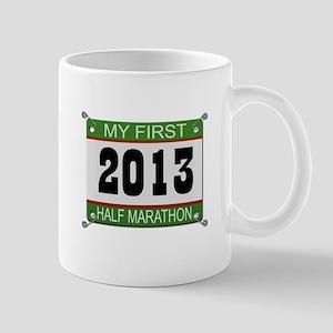 My First 1/2 Marathon - 2013 Mug