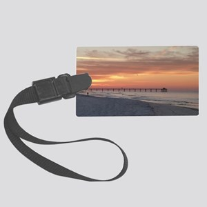 Ft. Fort Walton Beach Pier Flori Large Luggage Tag
