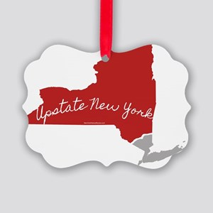 Upstate New York, of course! Picture Ornament