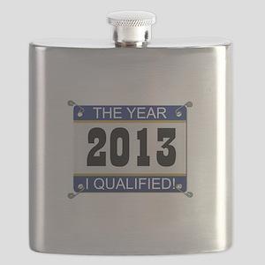 I Qualified - 2013 Flask