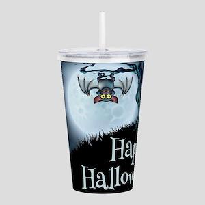 Happy Halloween Little Acrylic Double-wall Tumbler