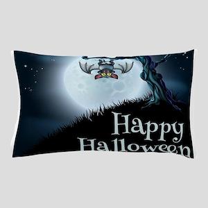 Happy Halloween Little Vampire Bat Pillow Case