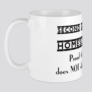 Second Generation Homeschooler, Proof t Mug