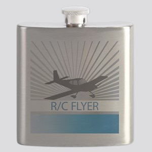 RC Flyer Low Wing Airplane Flask