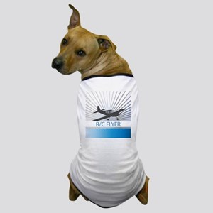RC Flyer Low Wing Airplane Dog T-Shirt