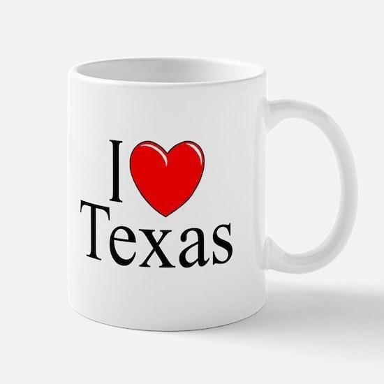 """I Love Texas"" Mug"