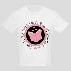 I Love To Read Book Club T-Shirt