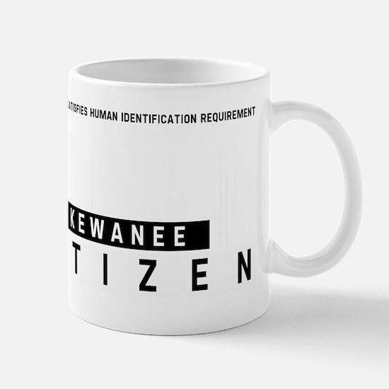 Kewanee Citizen Barcode, Mug