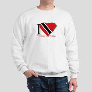 I love Trinidad & Tobago Sweatshirt