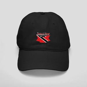 Trinidad flag ribbon Black Cap