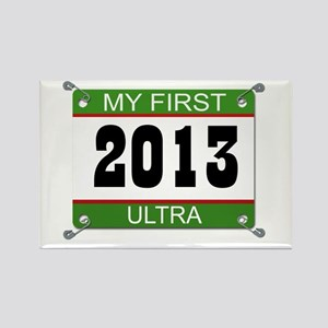 My First Ultra Bib - 2013 Rectangle Magnet