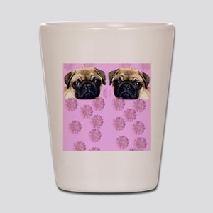 Pug Dog Shot Glass