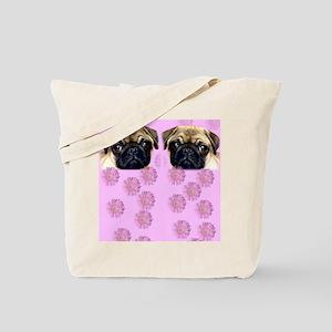 Pug Dog Tote Bag