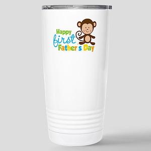 MonkeyBoy1stFathersDay Stainless Steel Travel Mug
