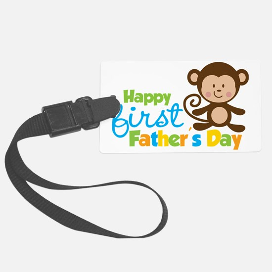 MonkeyBoy1stFathersDay Luggage Tag