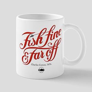 'Fish Fine' Mug - Red
