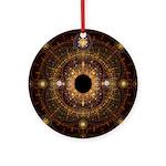 Celestial Fractal Ornament (Round)