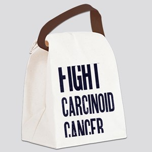 Fight Carcinoid Cancer Canvas Lunch Bag