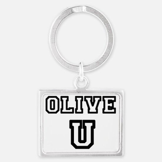 Olive U Landscape Keychain