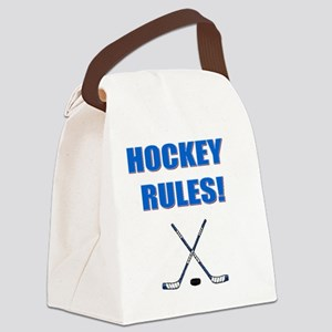 HOCKEY RULES Canvas Lunch Bag