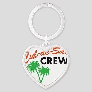 cul-de-sac crew Heart Keychain