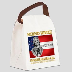 Stand Watie Canvas Lunch Bag