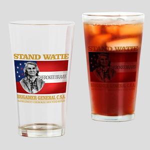 Stand Watie Drinking Glass