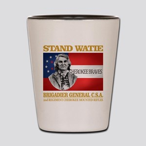 Stand Watie Shot Glass