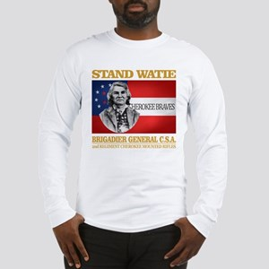 Stand Watie Long Sleeve T-Shirt