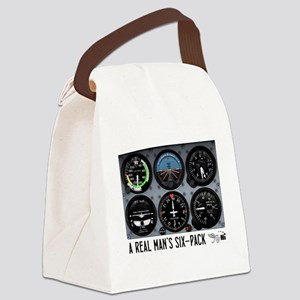 Six-Pack Canvas Lunch Bag