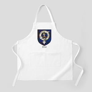 Elliot Clan Crest Tartan BBQ Apron