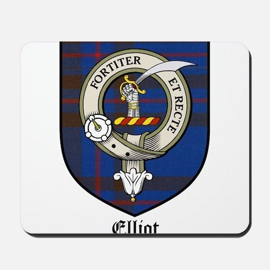 Elliot Clan Crest Tartan Mousepad