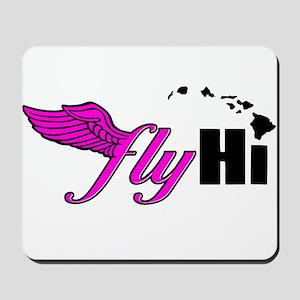 Pink Classic Logo Apparel Mousepad