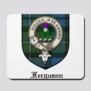 Ferguson Clan Crest Tartan Mousepad