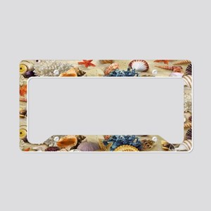 Seashell License Plate Holder