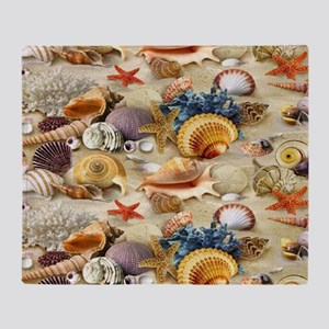 Seashell Throw Blanket