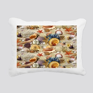 Seashell Rectangular Canvas Pillow