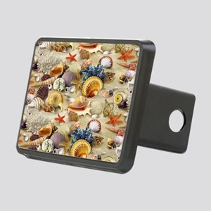 Seashell Rectangular Hitch Cover